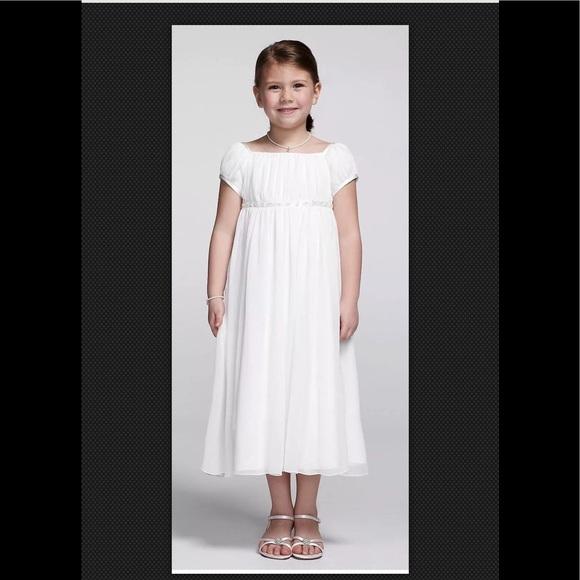 d864068e6238 $109 US ANGELS Ivory Chiffon Flower Girl Dress 14.  M_5ab82fbb33162745ab799eea